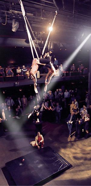 VIP event v cirkuse