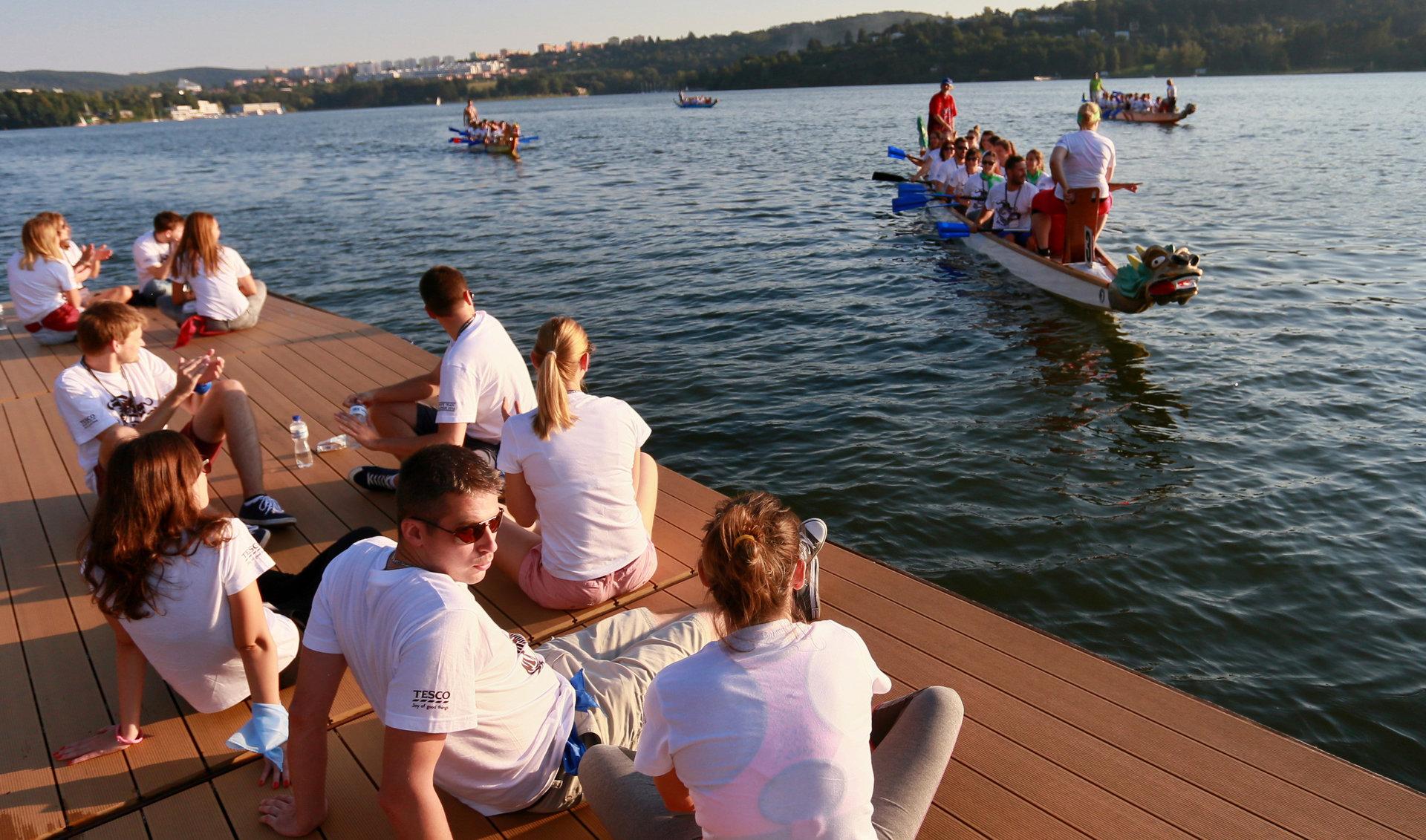 Teambuilding Dračí lodě