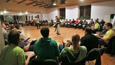 Teambuilding bubnování